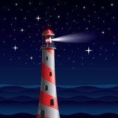 Leuchtturm — Stockvektor