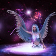 Space angel — Foto Stock