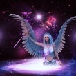 Space angel — Stockfoto