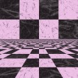 lilac checkered background — Stock Photo