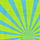 Green rays background — Photo