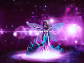 Space fairy — Stock Photo
