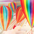 Colorful hot air balloons — Stok fotoğraf #28373451