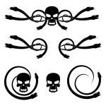 ������, ������: Skull and snake
