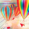 Colorful hot air balloons — Stock Photo #28603763