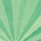 Green rays background — Stock Photo