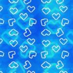 Origami hearts — Stock Photo