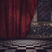 Gothic interior — Stock Photo