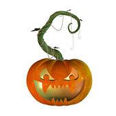 3d хэллоуин тыква — Стоковое фото