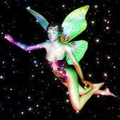 Fairy in stars — Stock Photo