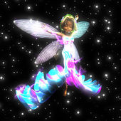 Fairy dancing — Stock Photo