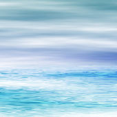 Water surface and sky — Stock Photo