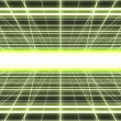 Glowing cyber grid — Stock Photo