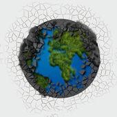 Abstract globe — Photo