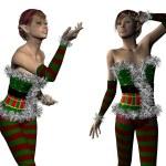 Elf Santa helper — Stock Photo #36613691