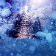 Abstract snowy background — Stock Photo
