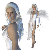 White angel — Stock Photo
