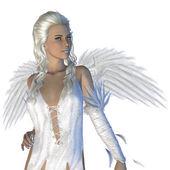 Weißer engel — Stockfoto