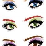 Eye make up — Stock Vector #37867377