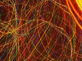 Colorful light streaks — Stock Photo