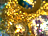 Defocused Christmas decorations — Foto de Stock