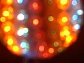 Shiny bokeh lights — Stockfoto