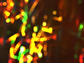 Colorful circular bokeh — Stock Photo
