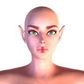Close up portrait of fairy — Stock Photo