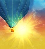 Balloon in the Sky — Stock Photo