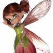 Cute Blossom Fairy — Stock Photo #43303907