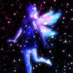 Fairy in the Stars — Stock Photo #47295637