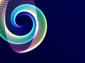 Glowing Spiral — Stock Photo