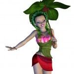3D Floral Fairy — Stock Photo #48042335