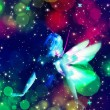 Fairy in the Stars — Stock Photo #48042501