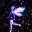 Fairy in the Stars — Stock Photo #48547963