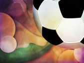 Abstract Soccer Ball  — Stock Photo