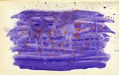 Violet Painted Background — Zdjęcie stockowe