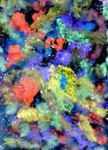 Multicolor Gouache Paint — Photo
