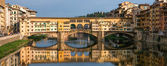 Florence - Ponte Vecchio — Stock Photo
