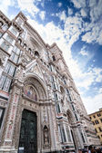 Florence cathedral Santa Maria del Fiore — Stock Photo