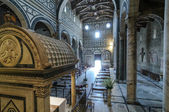 Basilica of San Miniato al Monte — Stock Photo