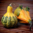 Royalty-Free Stock Photo: Decorative pumpkins