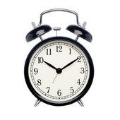 черный будильник — Стоковое фото