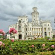 Stock Photo: Beautiful renaissance castle Hluboka