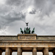 Quadriga on Brandenburg Gate — Stock Photo