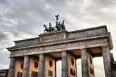 Quadriga on the top of Brandenburg Gate — Stok fotoğraf