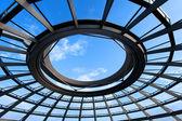 Alman parlamentosu, reichstag dome — Stok fotoğraf