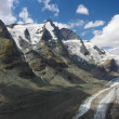 Grossglockner and Glacier Pasterze — Stock Photo