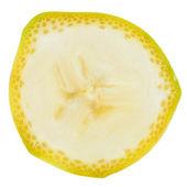Banana slice — Stock Photo