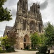 Cathedral of Reims — Stock Photo